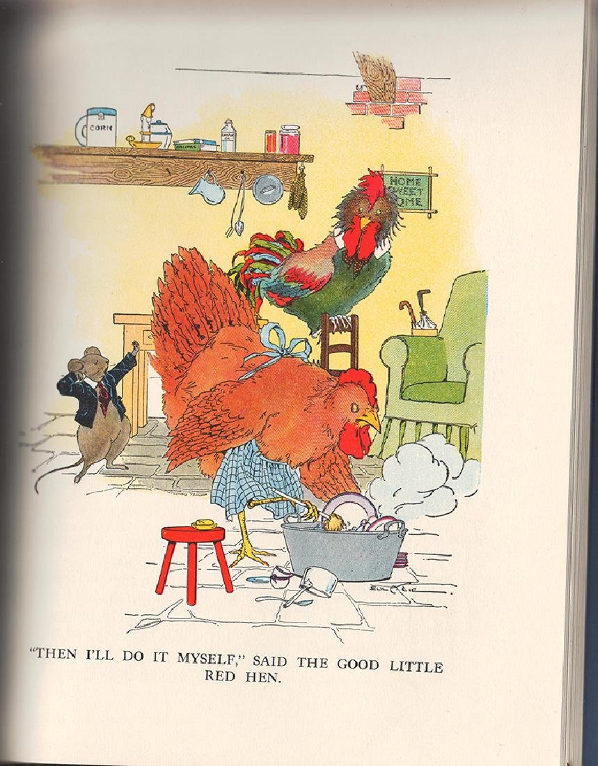1933 Watty Piper/Eulalie's Nursery Tales Children Love - 2