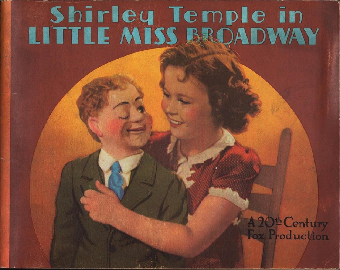 1938 First Edition Shirley Temple Little Miss Broadway