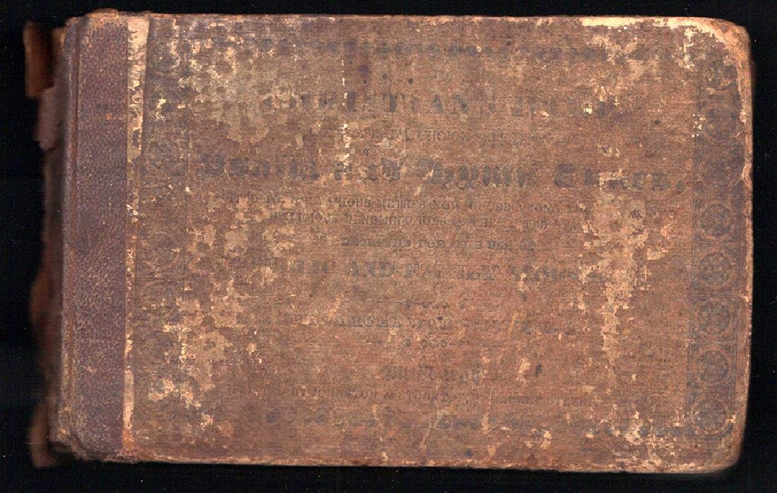First Edition 1832 Shape-Note Book Christian's Harp
