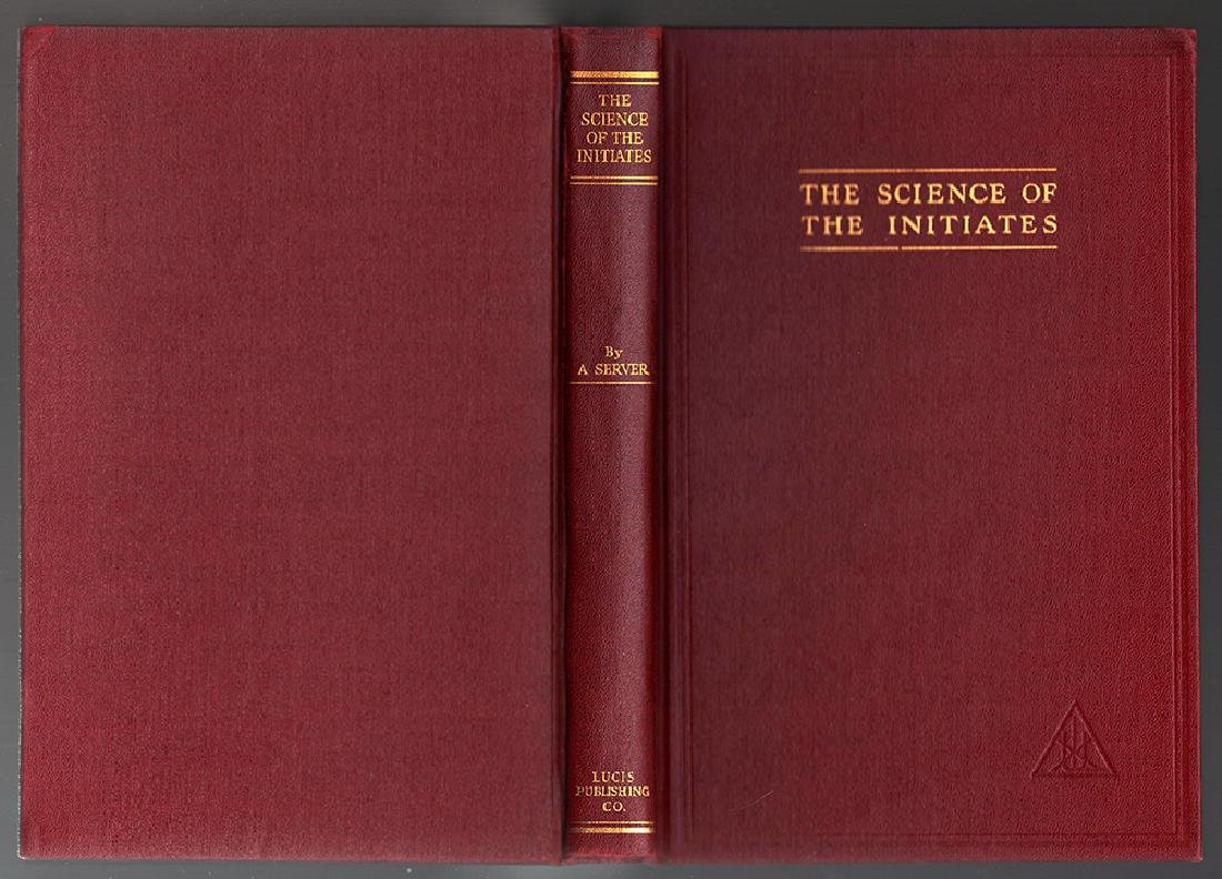 Sgd. First Edition Science Initiates, by E. M. Cosgrove