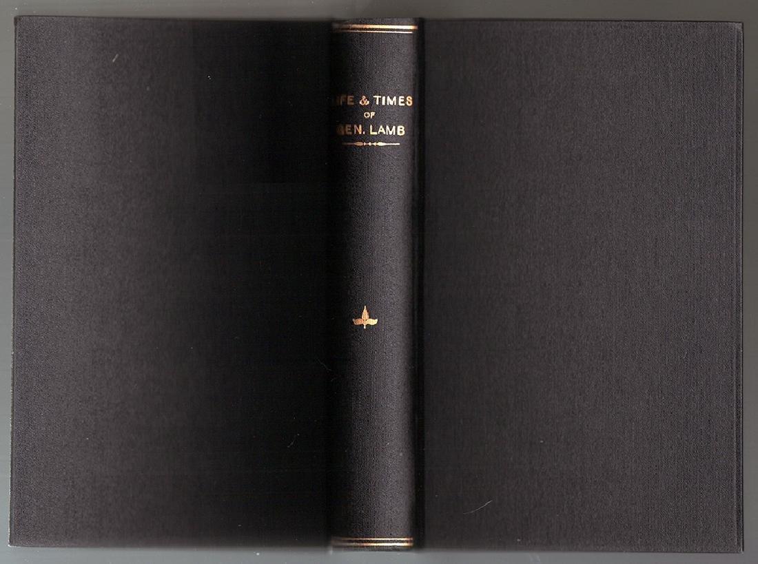 1850 Memoir of Gen. John Lamb: First Edition