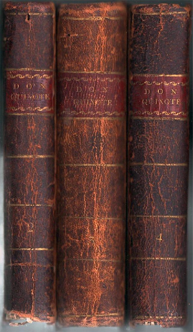 History Adventures Renowned Don Quixote 1803 3 / 4 vols