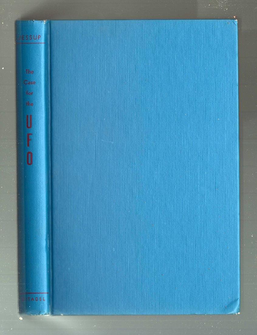 Case UFO, M. K. Jessup First Thus Citadel Press 1955