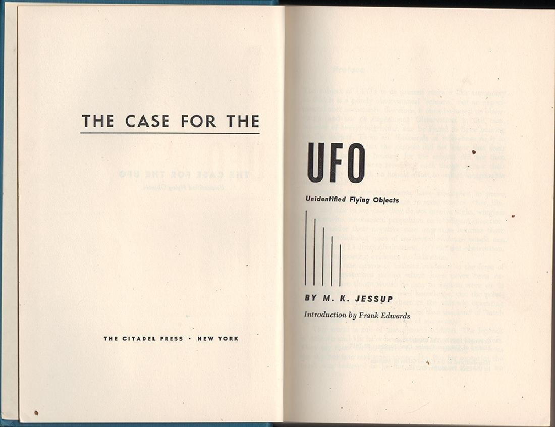Case UFO, M. K. Jessup First Thus Citadel Press 1955 - 3