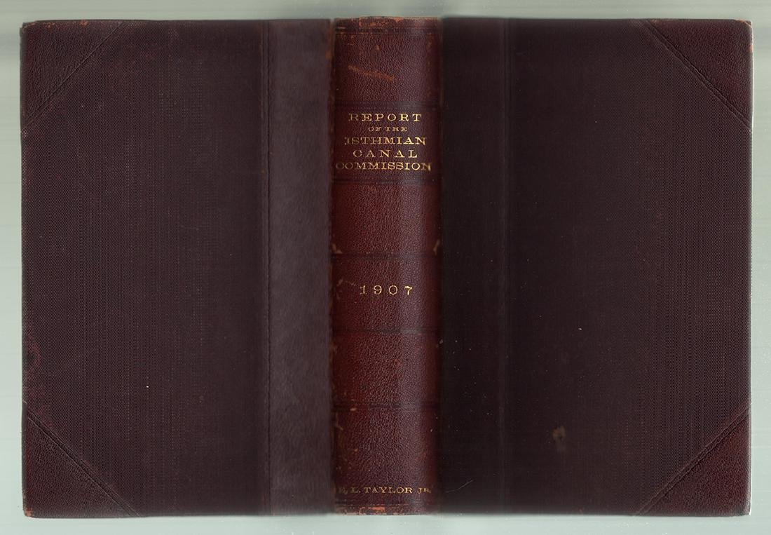 Annual Report of the Isthmian Canal Commission 1907