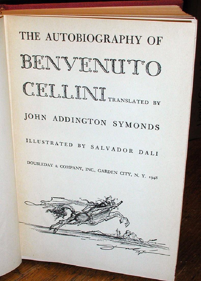 Salvador Dali Illustrated Autobio Benvenuto Cellini - 2