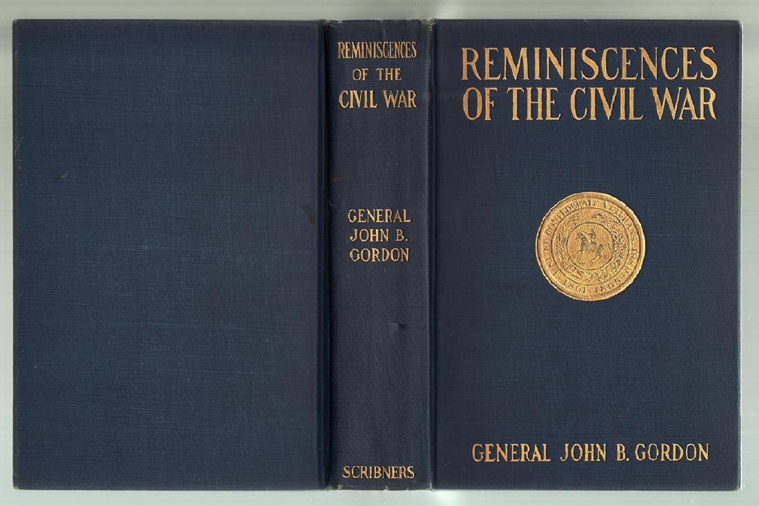 First Edition Reminiscences of the Civil War Gen Gordon