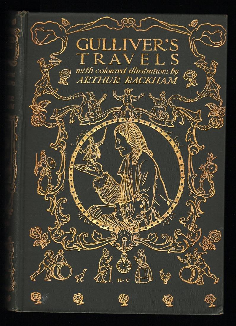 Gulliver's Travels Arthur Rackham First Ed First Print