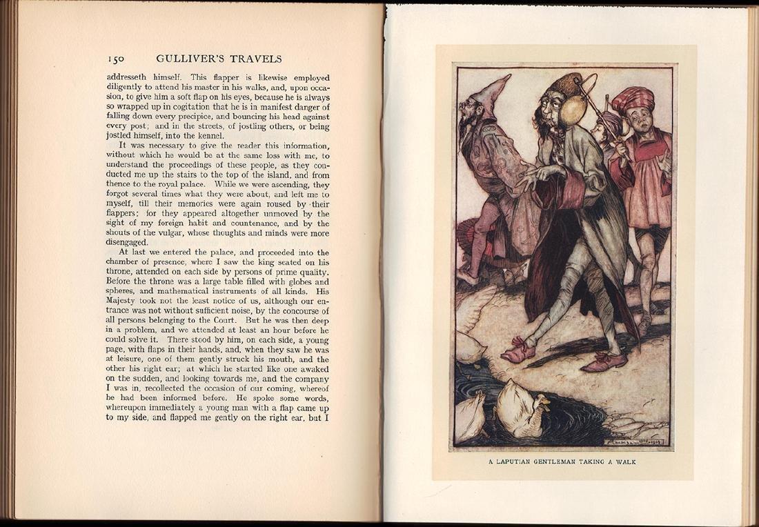 Gulliver's Travels Arthur Rackham First Ed First Print - 3