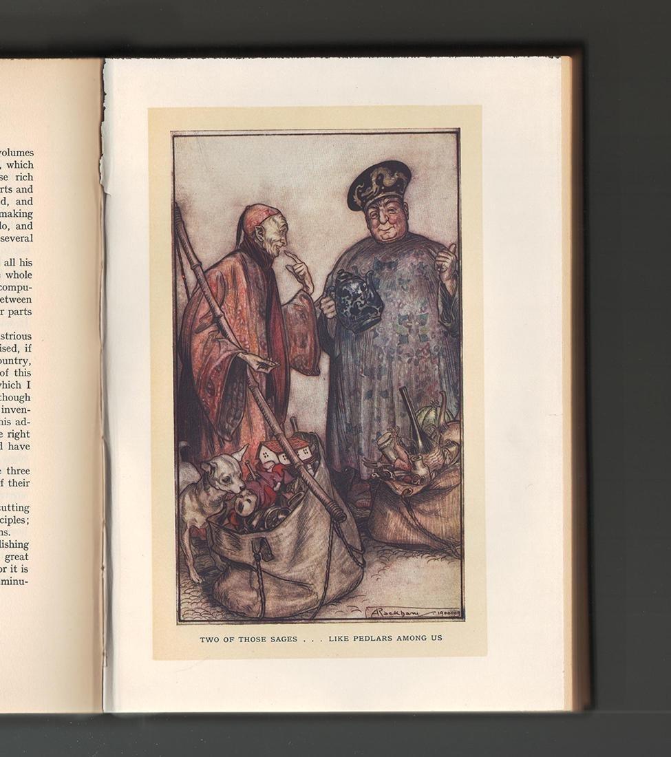 Gulliver's Travels Arthur Rackham First Ed First Print - 4
