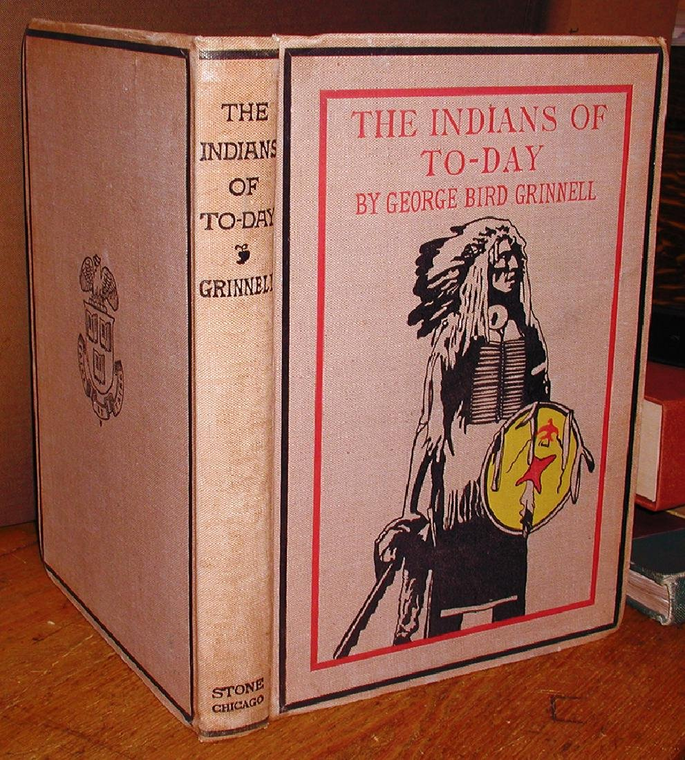 Indians Today George Bird Grinnell Scarce First Edition - 4