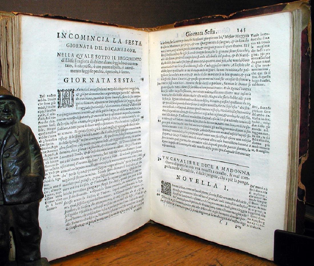 Decamerone Di Messer Giovanni Boccaccio Cittadin 1612 - 4