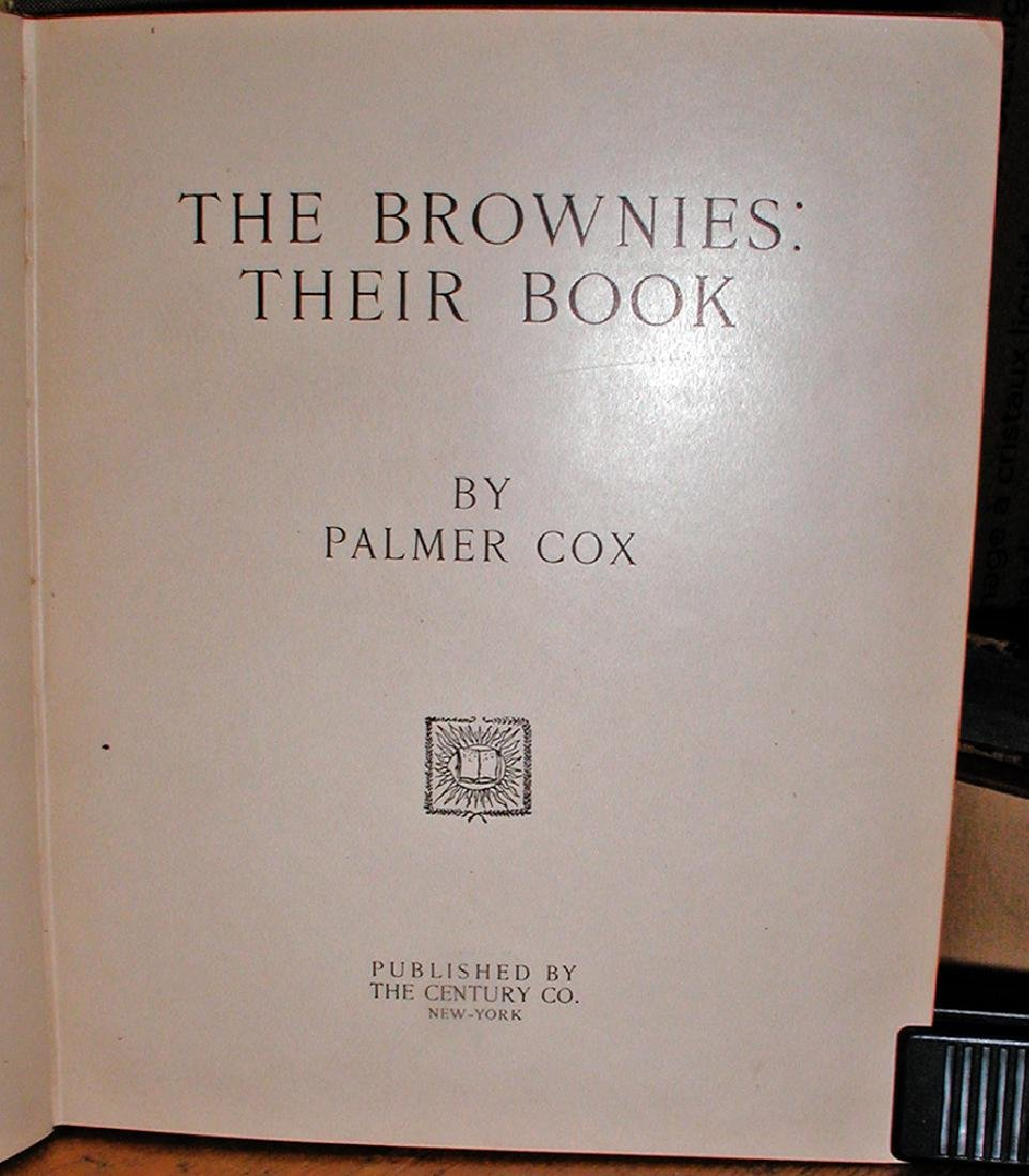 The Brownies: Their Book by Palmer Cox, First Edition - 3