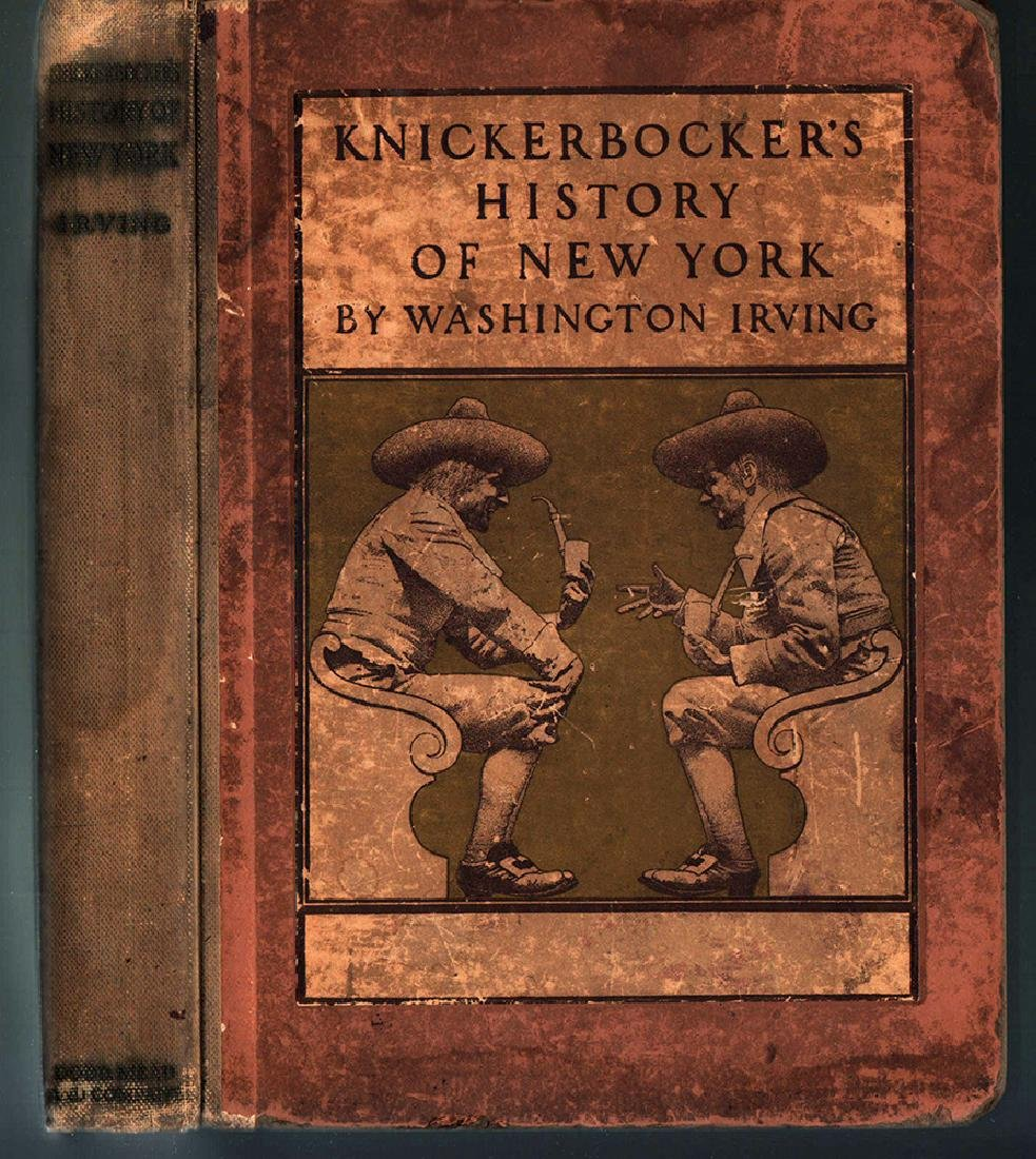 Knickerbocker's History of New York - Maxfield Parrish