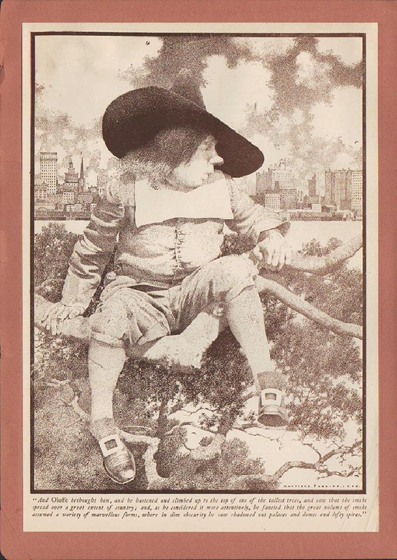 Knickerbocker's History of New York - Maxfield Parrish - 2