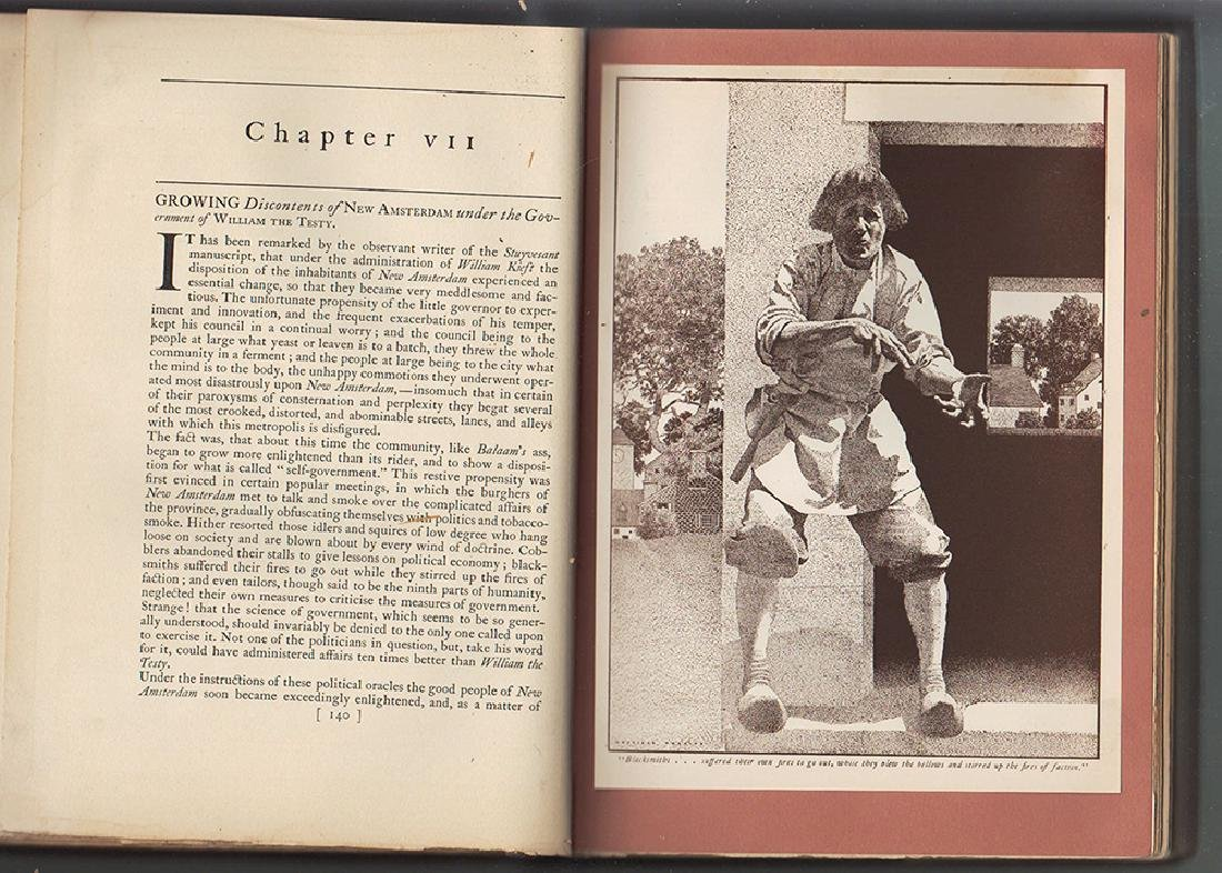 Knickerbocker's History of New York - Maxfield Parrish - 3