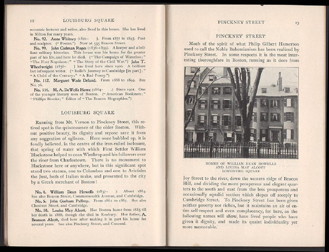 Literary Landmarks of Boston 1903 - 4