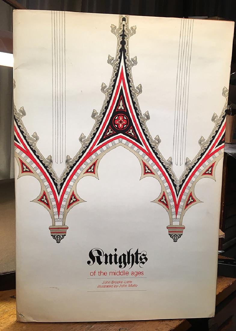 Gigantic Illustrated Book, Knights of the Middle Ages