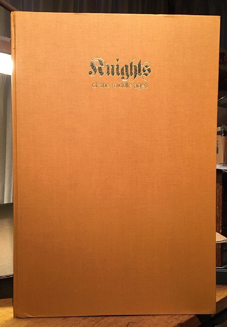 Gigantic Illustrated Book, Knights of the Middle Ages - 2