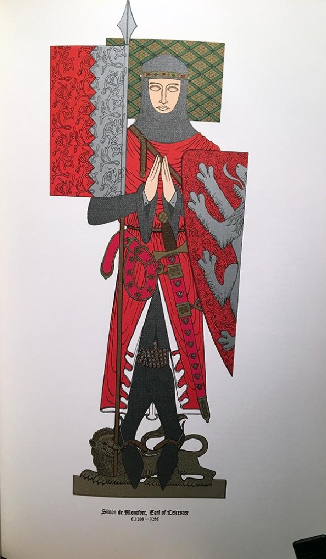 Gigantic Illustrated Book, Knights of the Middle Ages - 5