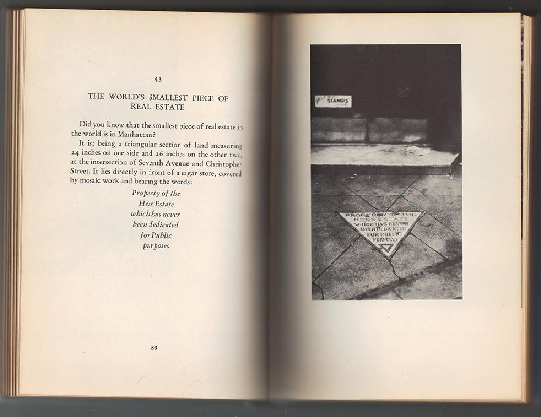 New York, Oddly Enough Scarce in dust jacket - 5
