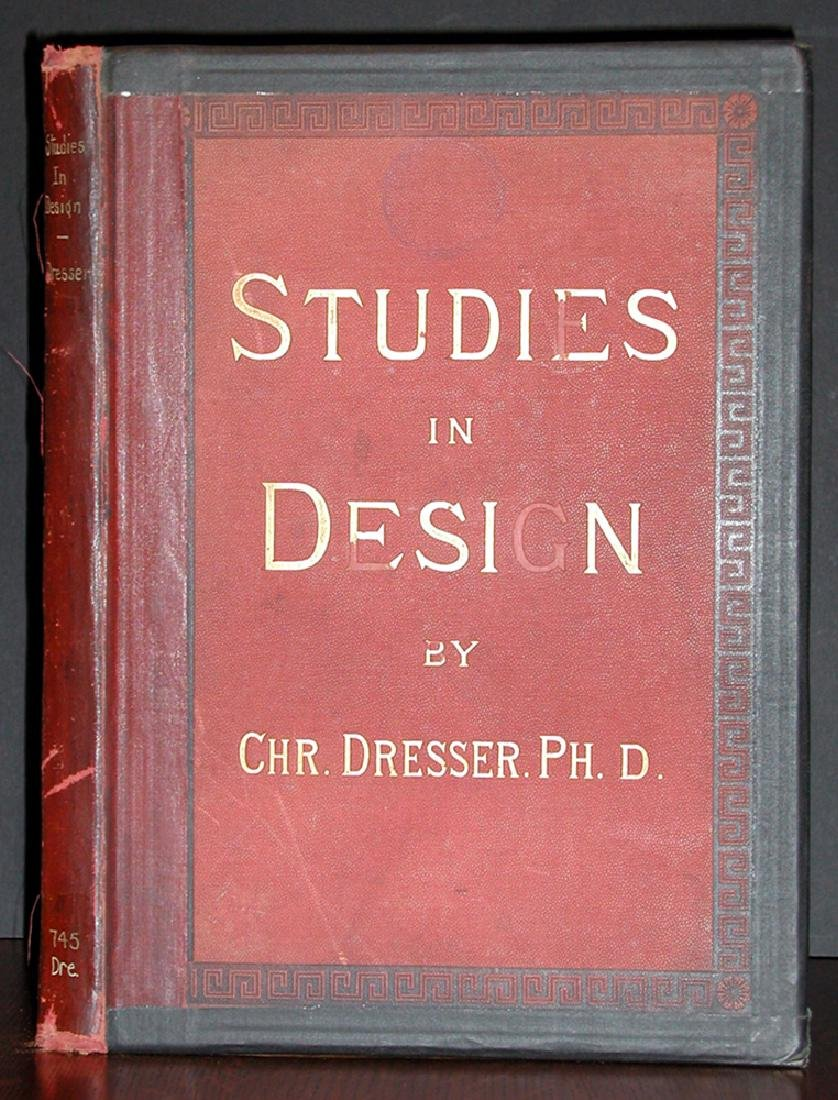 Studies in Design Christ Dresser Complete First Edition