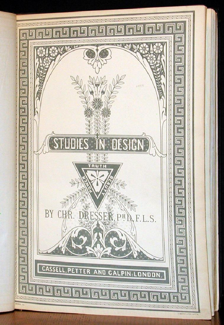 Studies in Design Christ Dresser Complete First Edition - 2