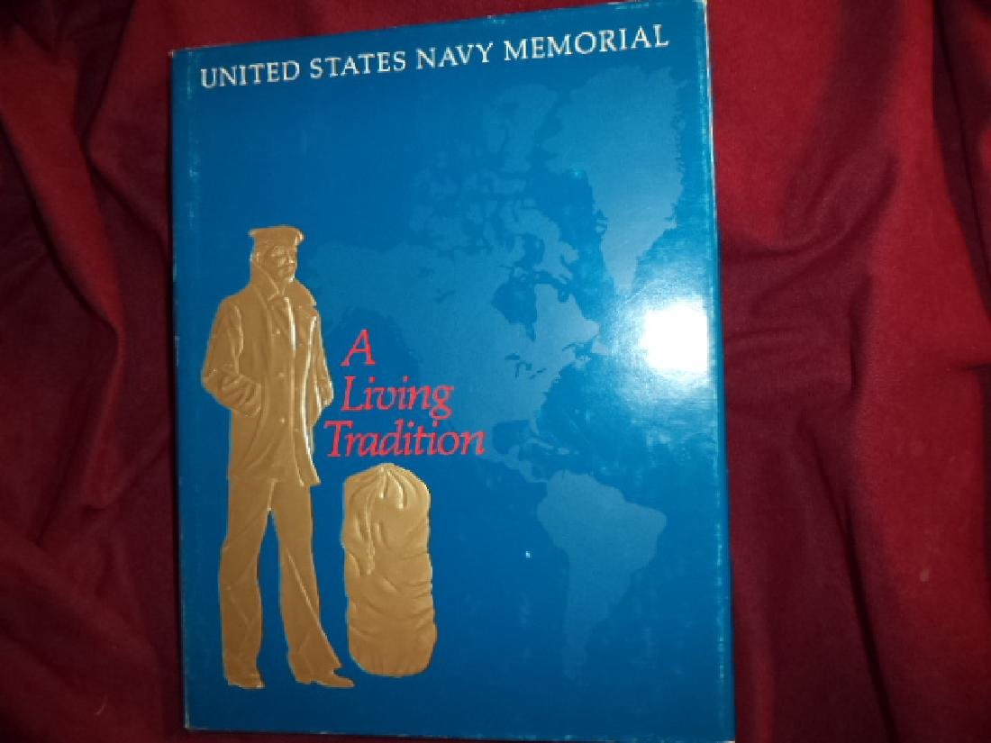 A Living Tradition. Signed by Admiral Arleigh Burke