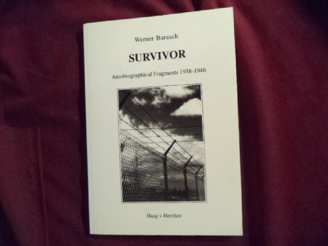 Survivor. Signed by the author. Autobiographical