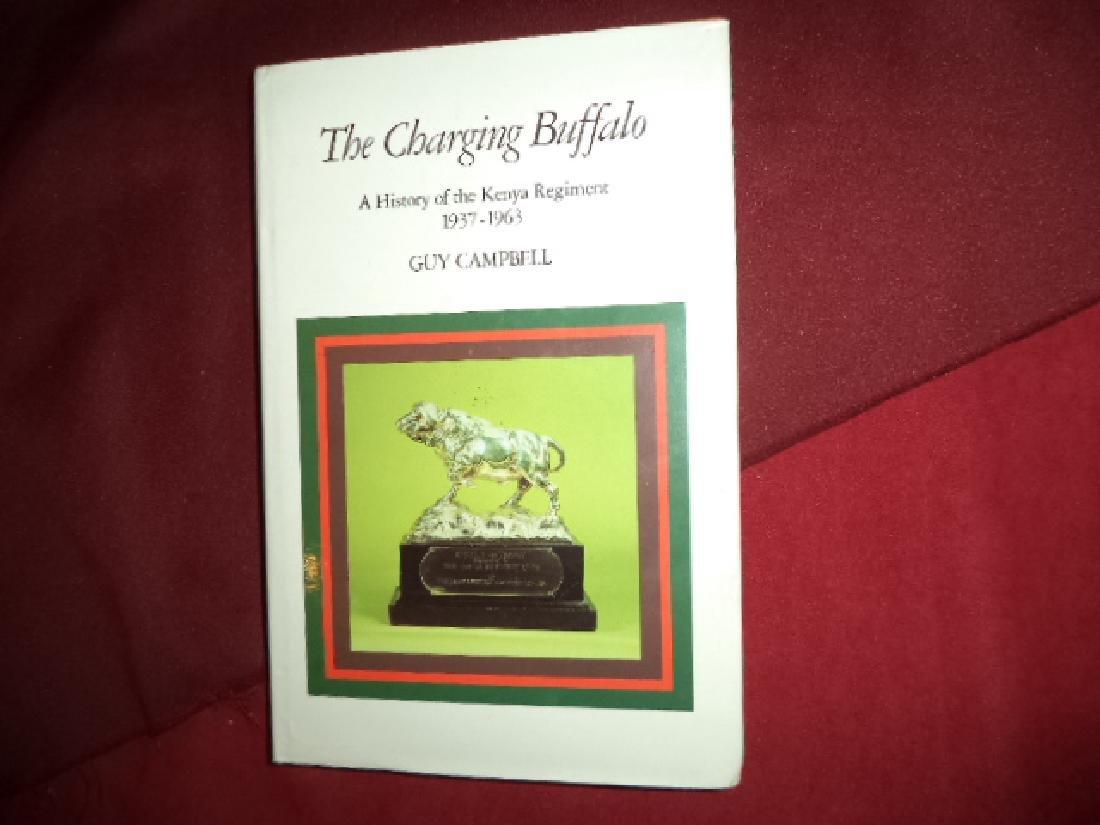 Charging Buffalo Signed Author History Kenya Regiment
