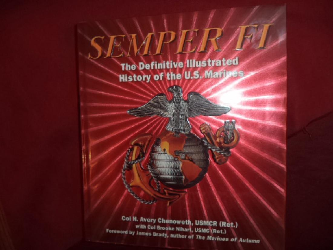 Semper Fi Definitive Illustrated History US Marines