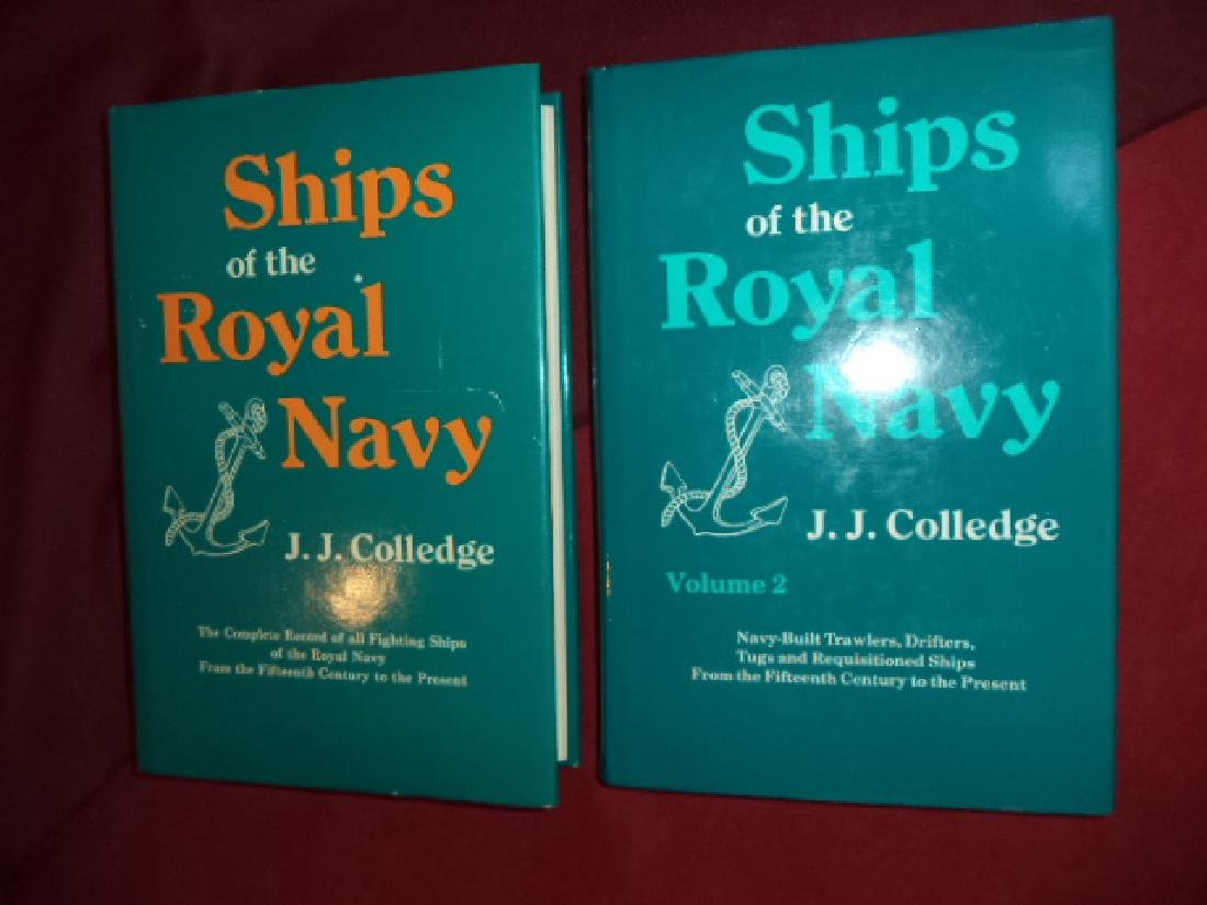 Ships of the Royal Navy. 2 Volumes. The Complete Record