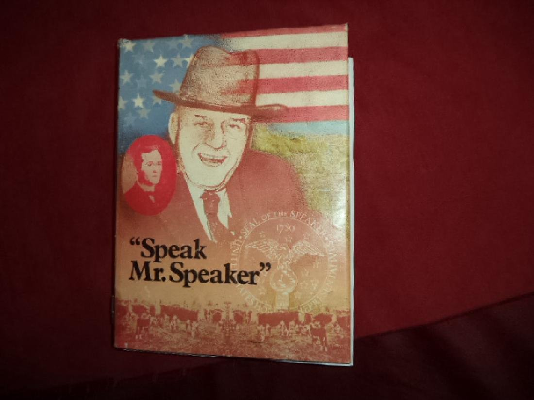 Speak, Mister Speaker. Inscribed by the authors Dulaney