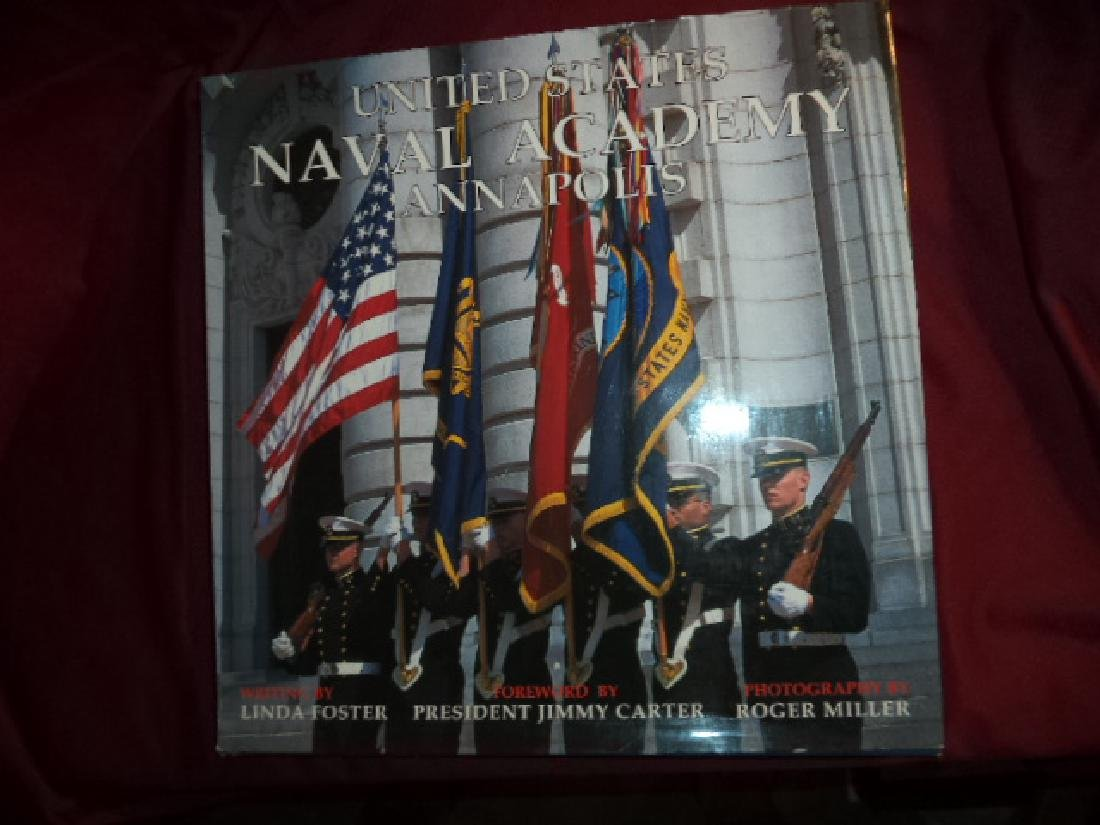 United States Naval Academy Annapolis. Inscribed author