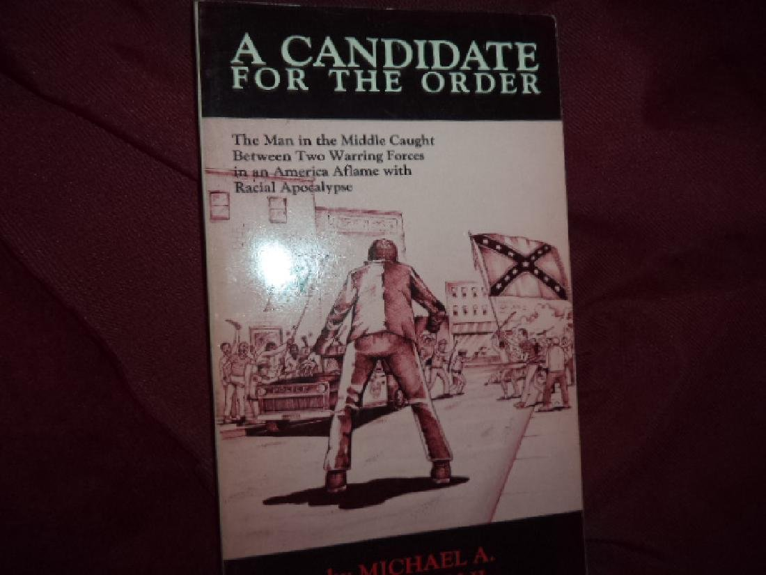 Candidate for the Order Inscribed by the author Hoffman