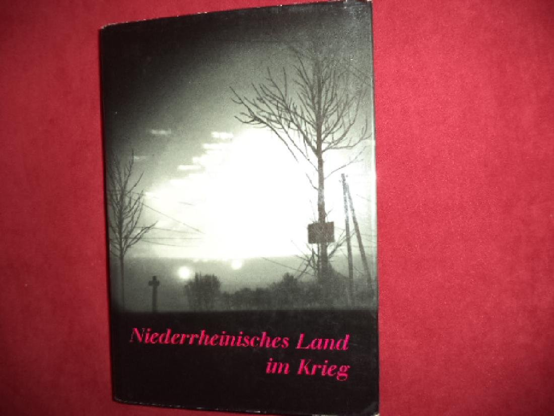 Lower Rhine country at War Inscribed by the author