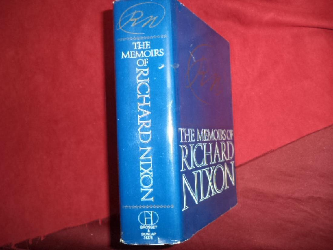 Memoirs of Richard Nixon. First Edition Richard Nixon