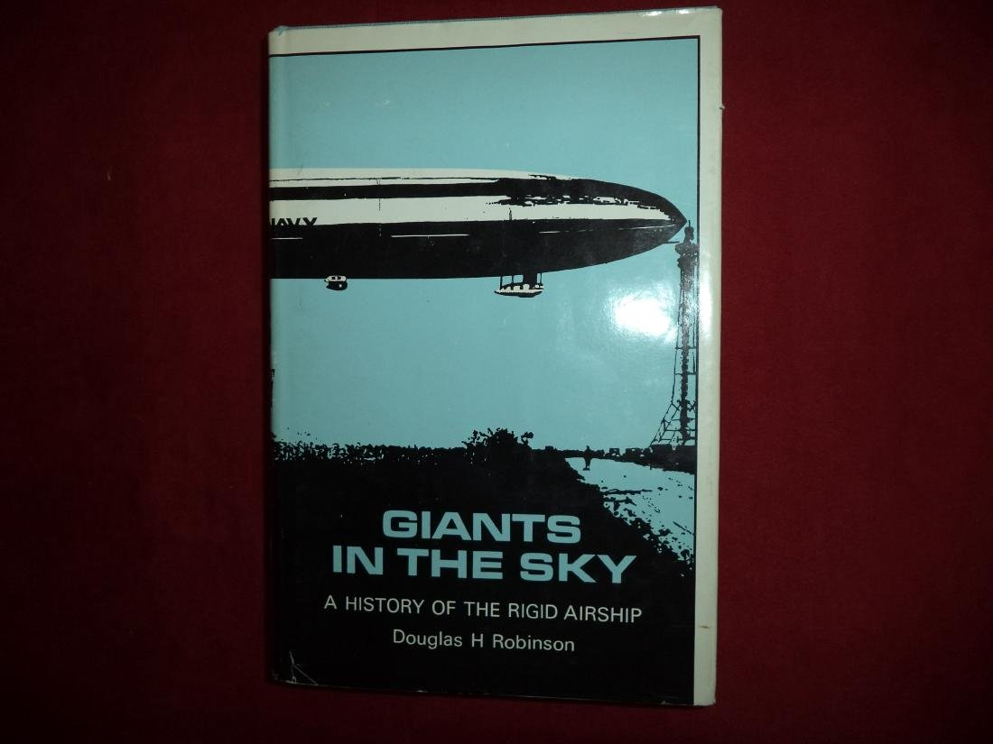 Giants in the Sky Inscribed by Zeppelin Pioneer