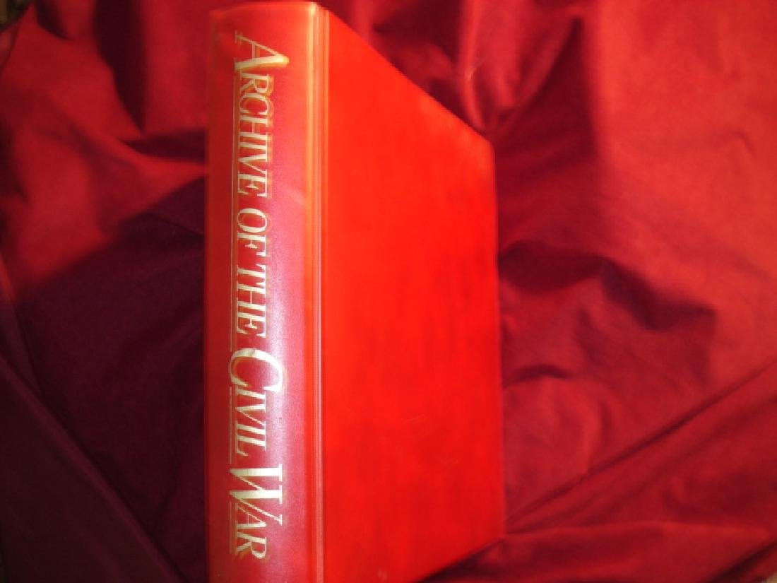 Archive of The Civil War. Map Volume Sommers, Richard J