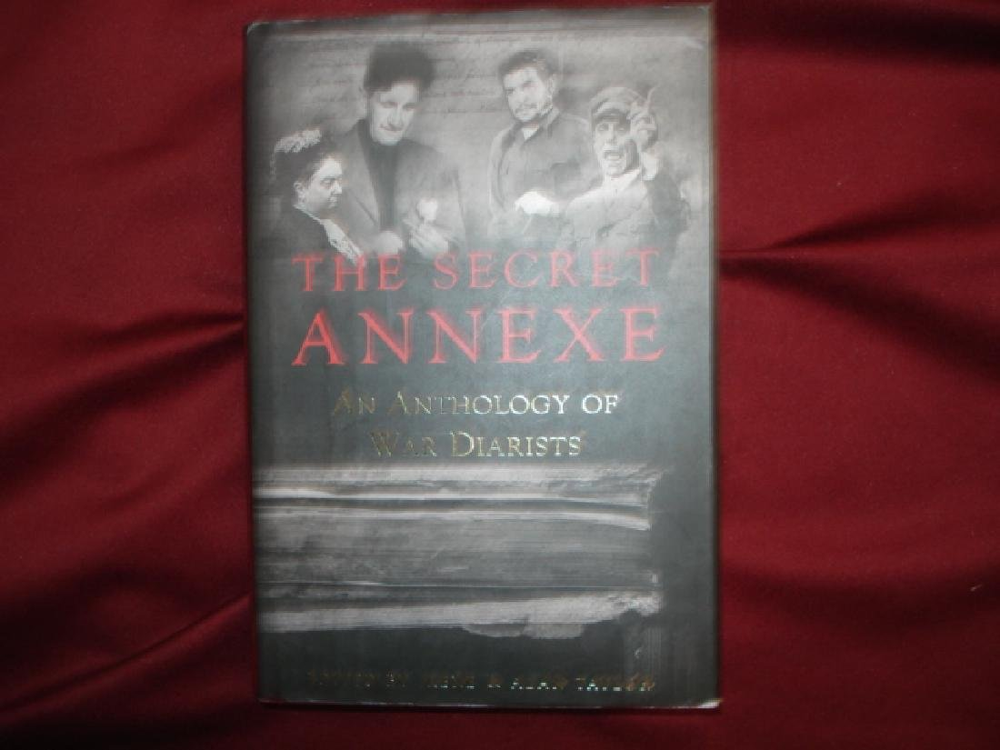 The Secret Annexe. Signed by the author. War Diarists