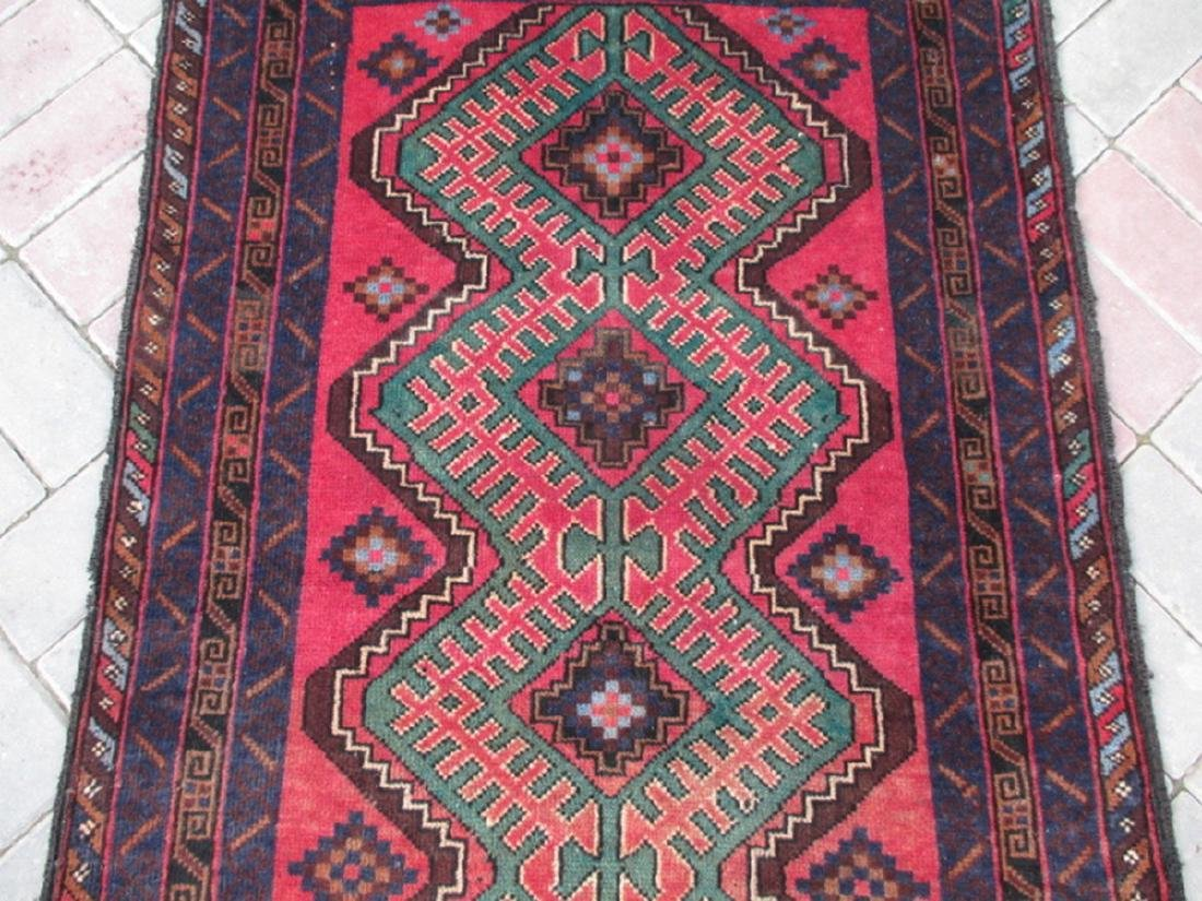 Semi Antique Baluchi Rug 4.5x2.9 - 2
