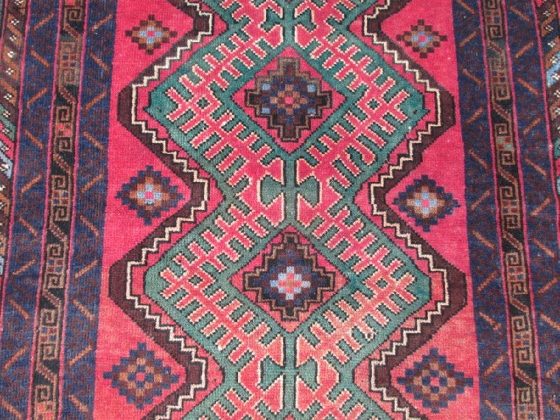Semi Antique Baluchi Rug 4.5x2.9 - 3