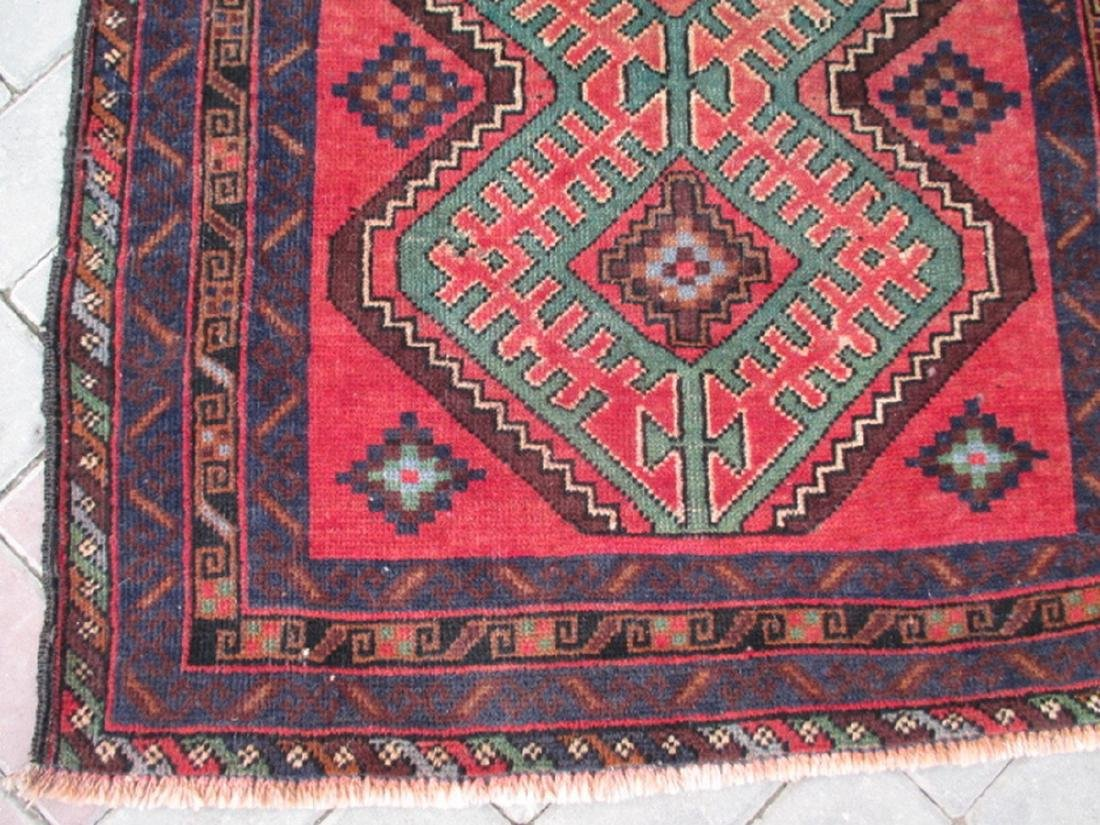 Semi Antique Baluchi Rug 4.5x2.9 - 4