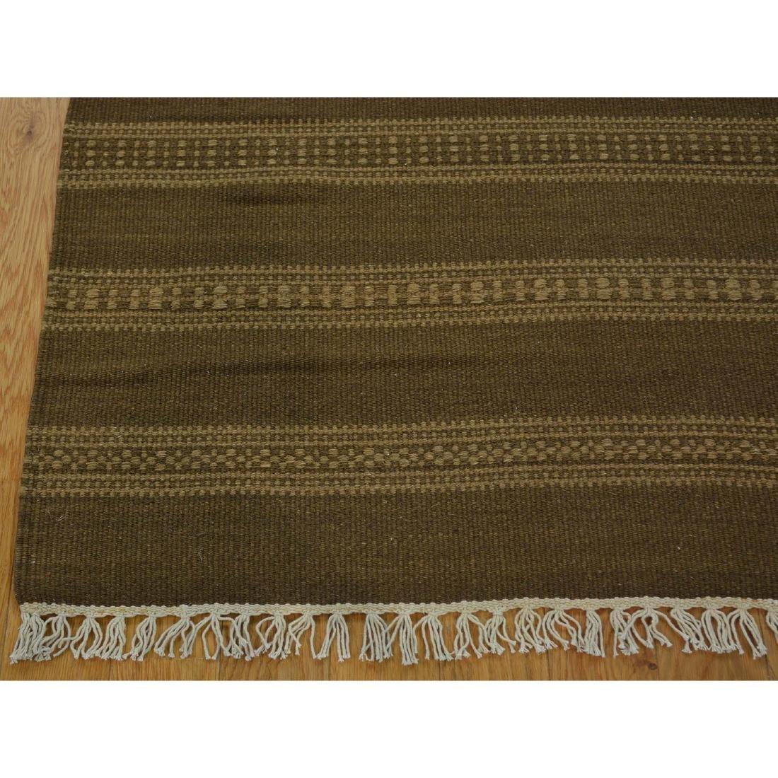 Wool Durie Kilim Rug Hand Woven Flat Weave 3x5.1 - 4