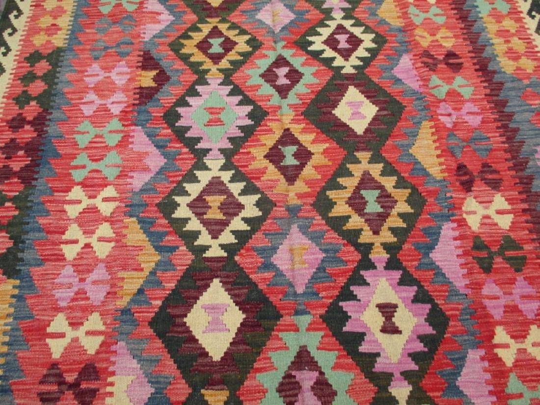 Hand Woven Chobi Kilim Rug 7.10x5.9 - 2