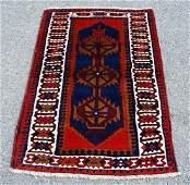 Very Semi Antique Persian Hamedan Rug 3x5