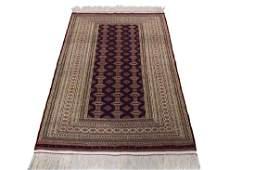 Fine Vintage Persian Turkoman Rug Bokhara 410x69
