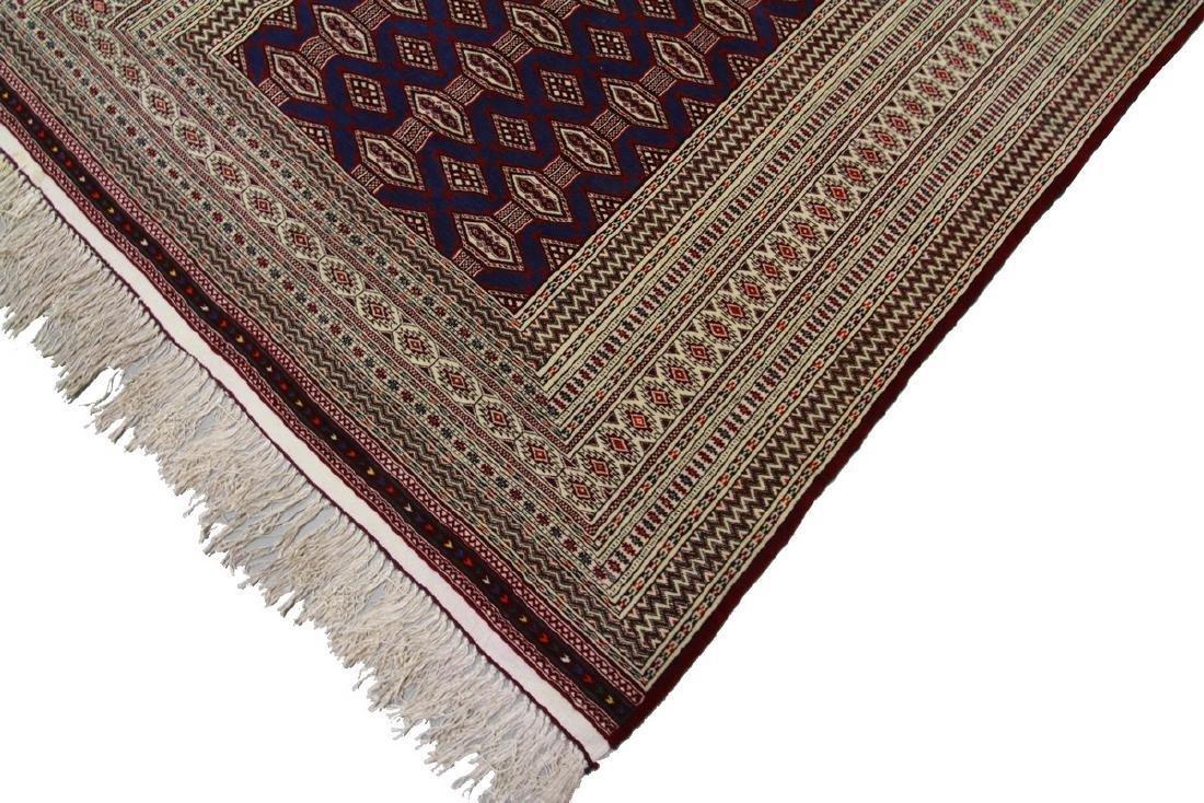 Fine Vintage Persian Turkoman Rug Bokhara 4.10x6.9 - 2