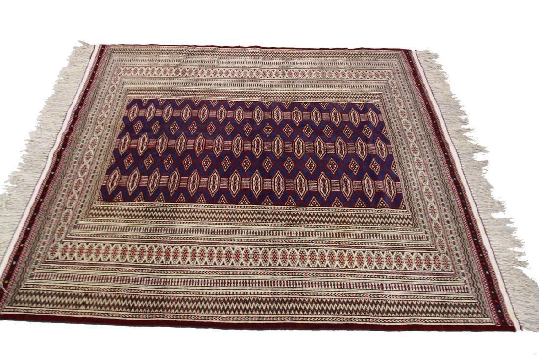 Fine Vintage Persian Turkoman Rug Bokhara 4.10x6.9 - 3