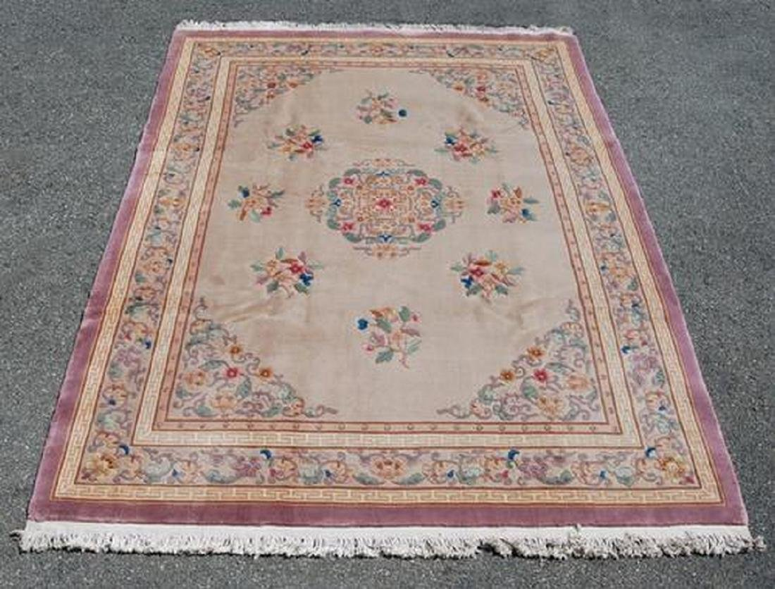 Highly Decorative Large Size Contemporary Rug 9x12